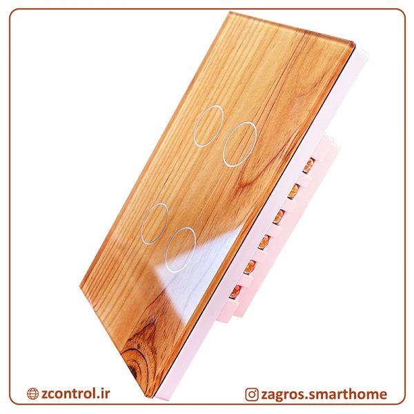 کلید لمسی چوبی سایز آمریکایی