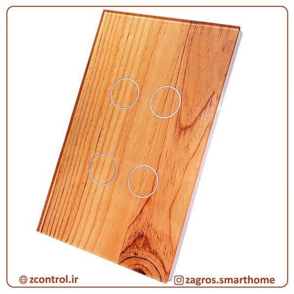 کلید چوبی لمسی سایز آمریکایی