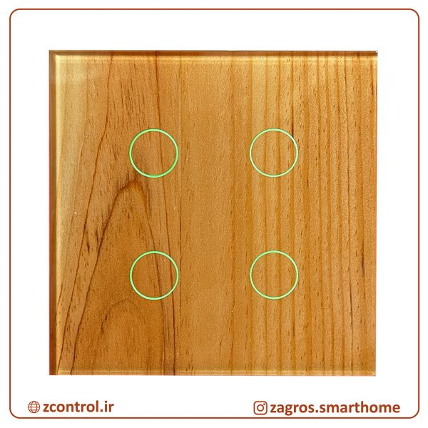 کلید چوبی لمسی