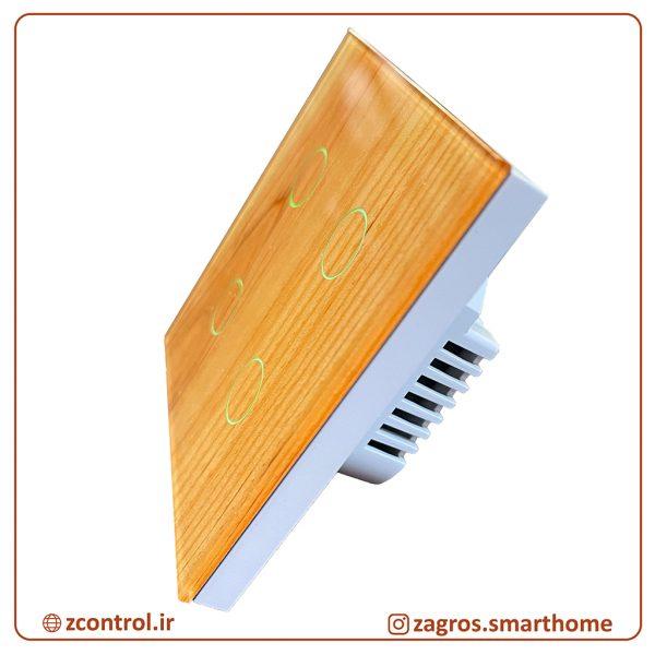 کلید لمسی چوبی شیراز